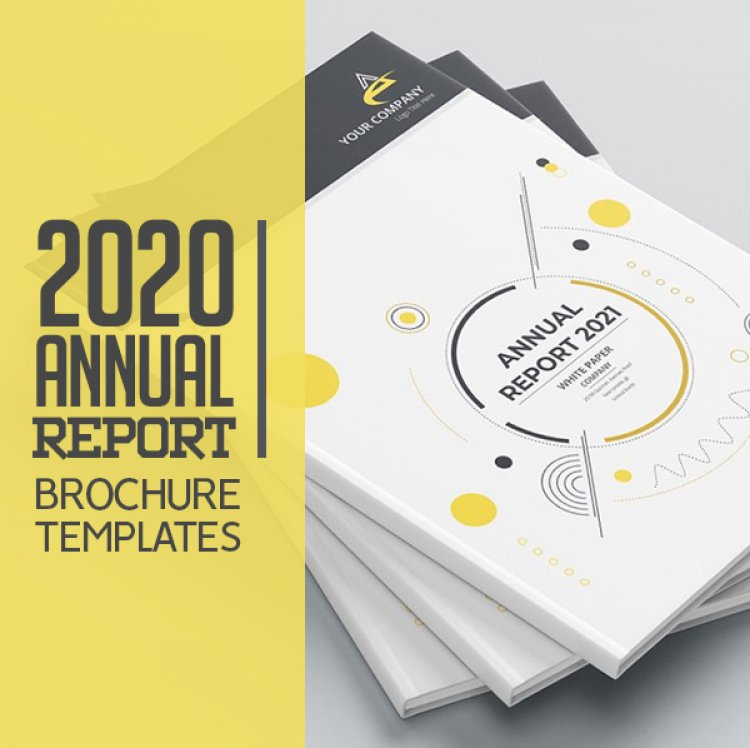 26 Best Annual Report Brochure Templates For 2020